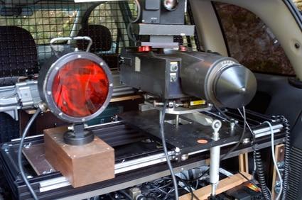 Multanova VR 6F im Auto eingebaut