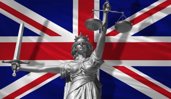 Bußgeld in Großbritannien