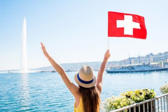 Bußgeld in der Schweiz